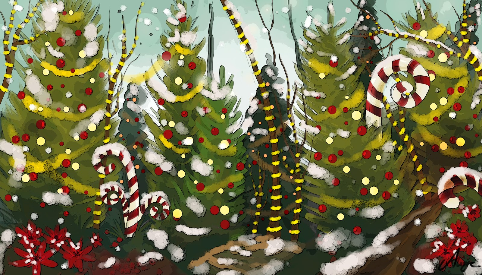 christmas jungle
