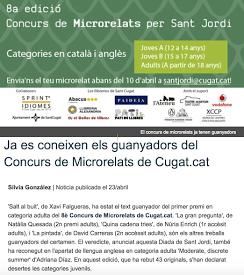 1er ACCÈSSIT Concurs Microrelats Sant Cugat
