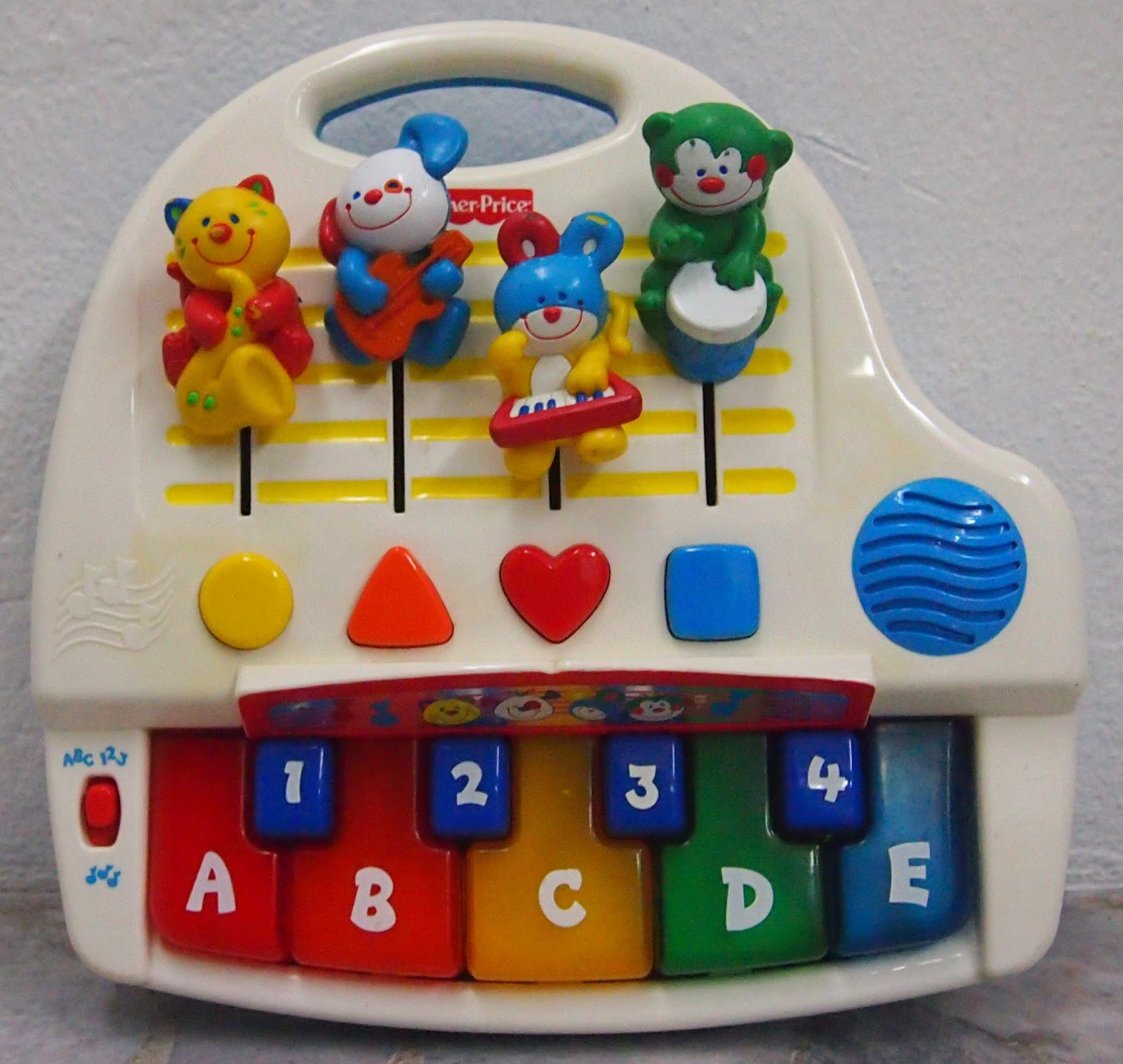 Fisher Price Keyboard All About Fish