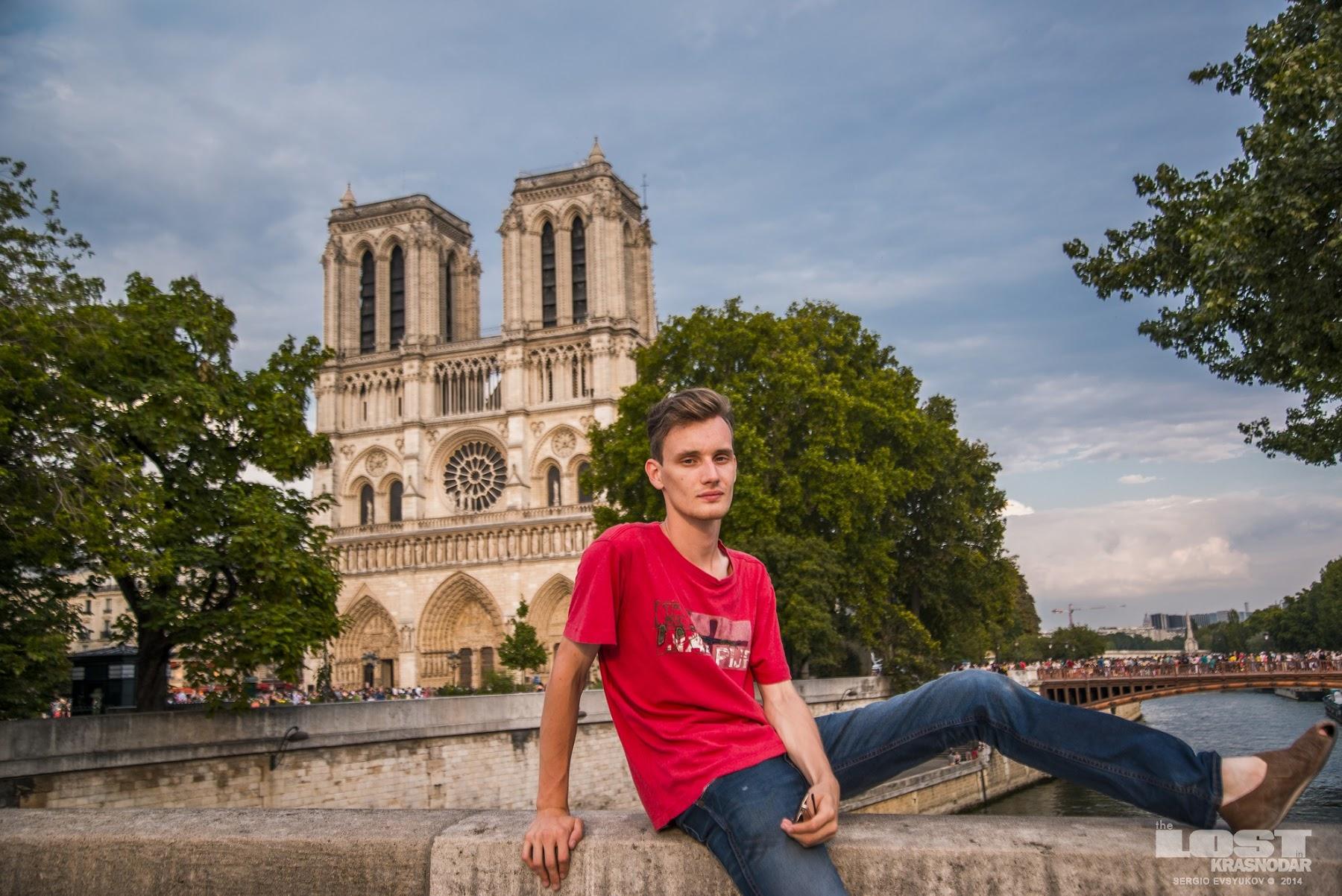 Собор Богоматери в Париже