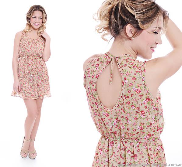 Thirteen Doors primavera verano 2014 vestidos cortos.