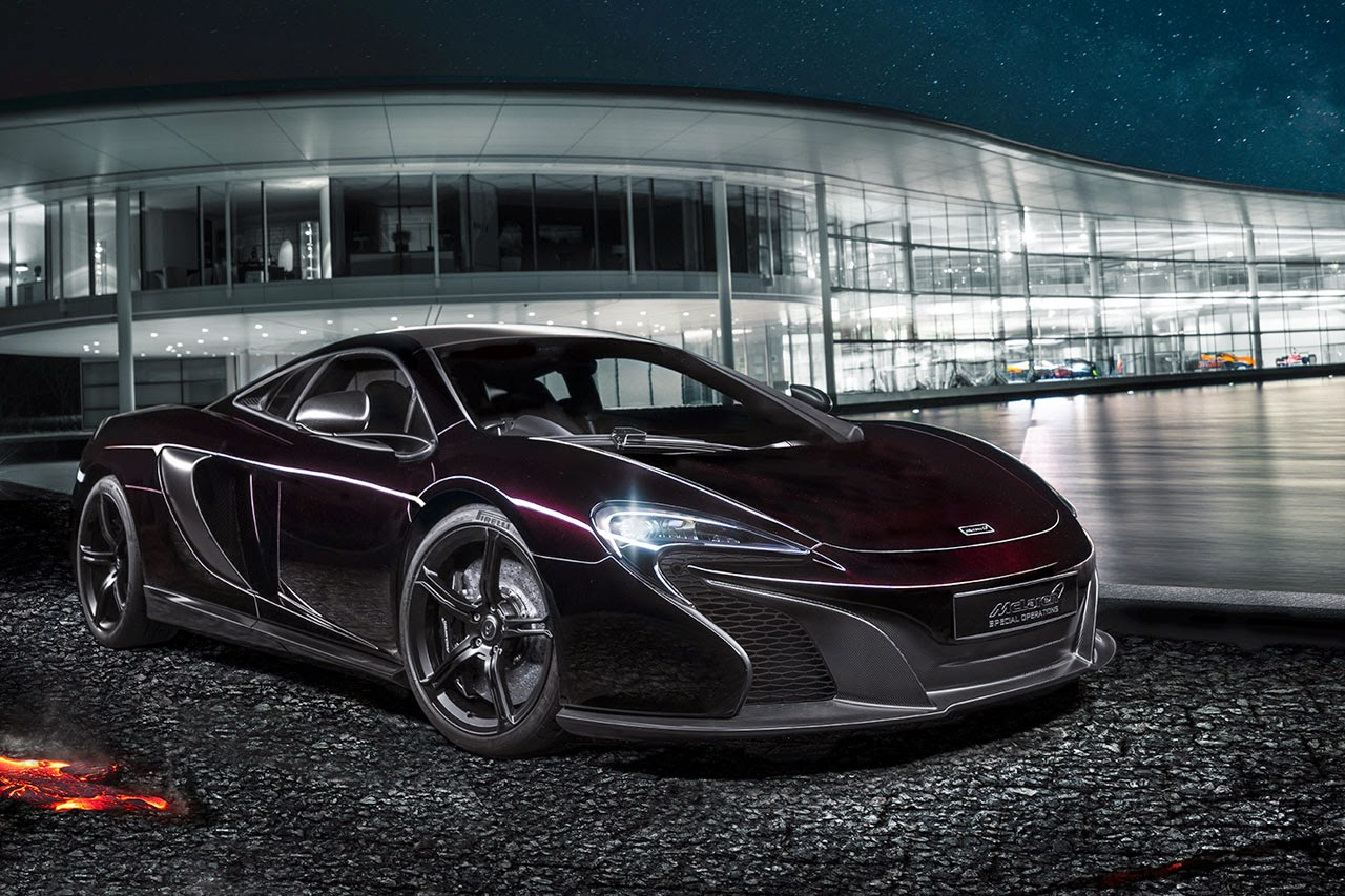 McLaren Special Operations showcases MSO 650S Coupe Concept in China