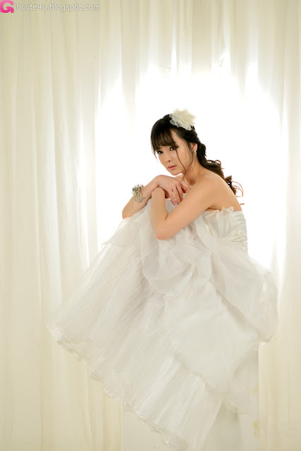 3 Im Ji Hye in Wedding Dress - very cute asian girl - girlcute4u.blogspot.com