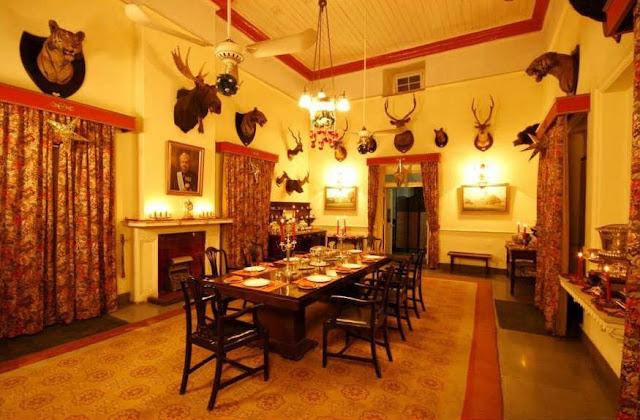 Brij Raj Bhawan Dining Hall