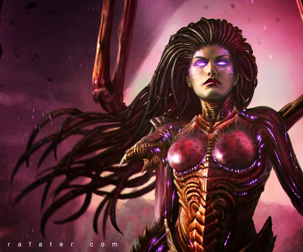 Kerrigan Queen of Blades by Rafater