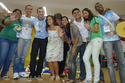 Nordeste marca presença na 4ª Assembleia Nacional da Juventude Missionária