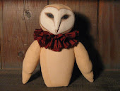 Folk Art Barn Owl