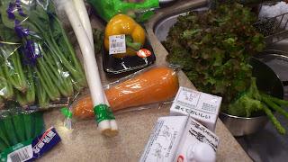 中央区へ出張シェフ:お野菜たっぷり
