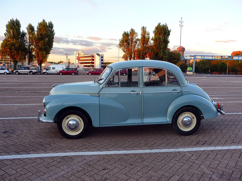 Morris Minor 100 Saloon, UK