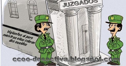 Seccion sindical ccoo ilunion seguridad madrid guardia for Sueldos del ministerio del interior