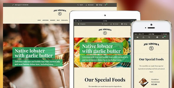 Best Responsive Restaurant Template