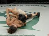 MMA com as lésbicas peladonas