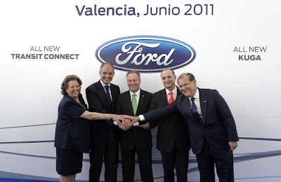 Camps afirma que los 800 millones que Ford invertirá en Almussafes inyectan confianza y multiplican las expectativas de la Comunitat