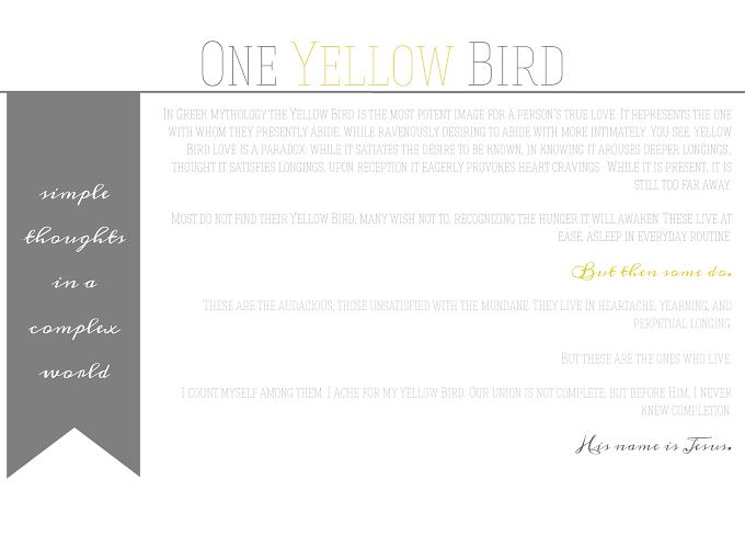 oneyellowbird.