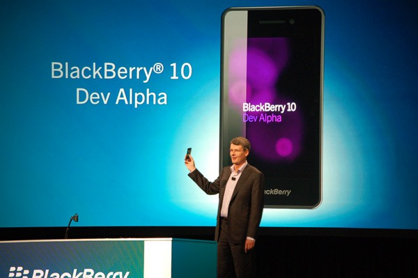 BlackBerry 10 Dev Alpha OS
