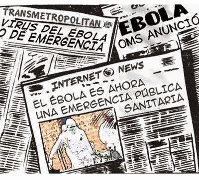 front page cómic - virus ébola 2014
