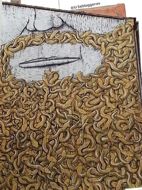 et Art, Arte Urbano en el barrio El Carmen en Valencia. BLU