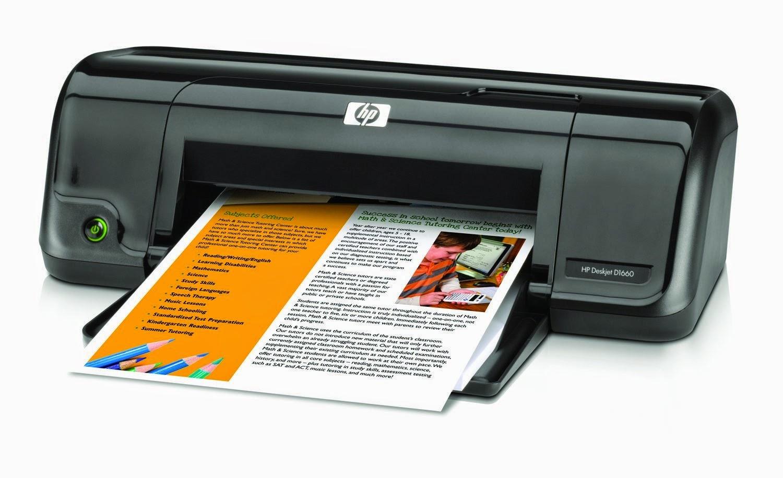 Скачать драйверы для принтера hp deskjet d1663