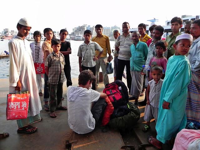 Recibiendo atención en Bangladesh