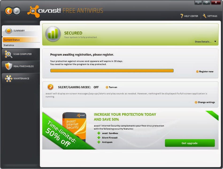 افاست تحميل مجاني avast Free Antivirus