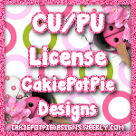 CakiePotPieDesigns CU License