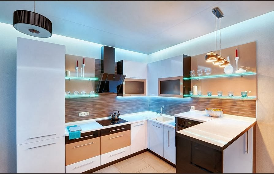 Small Kitchen Ceiling Lighting Ideas 894 x 570