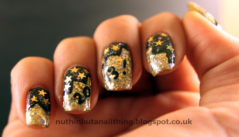 nuthin\' but a nail thing: New Years Eve Nails