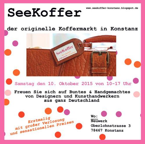 Seekoffer Koffermakt Konstanz Neuwerk Kunsthandwerker Kunsthandwerkermarkt DIY handmade handgemacht Künstler