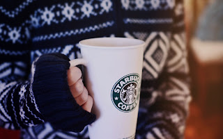 Girl Holding Starbucks Coffee Cup Photography HD Wallpaper