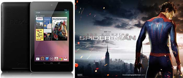 spiderman nexus 7