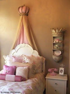 Sophisticated Princess Bedroom by EmbellishmentsKids.com