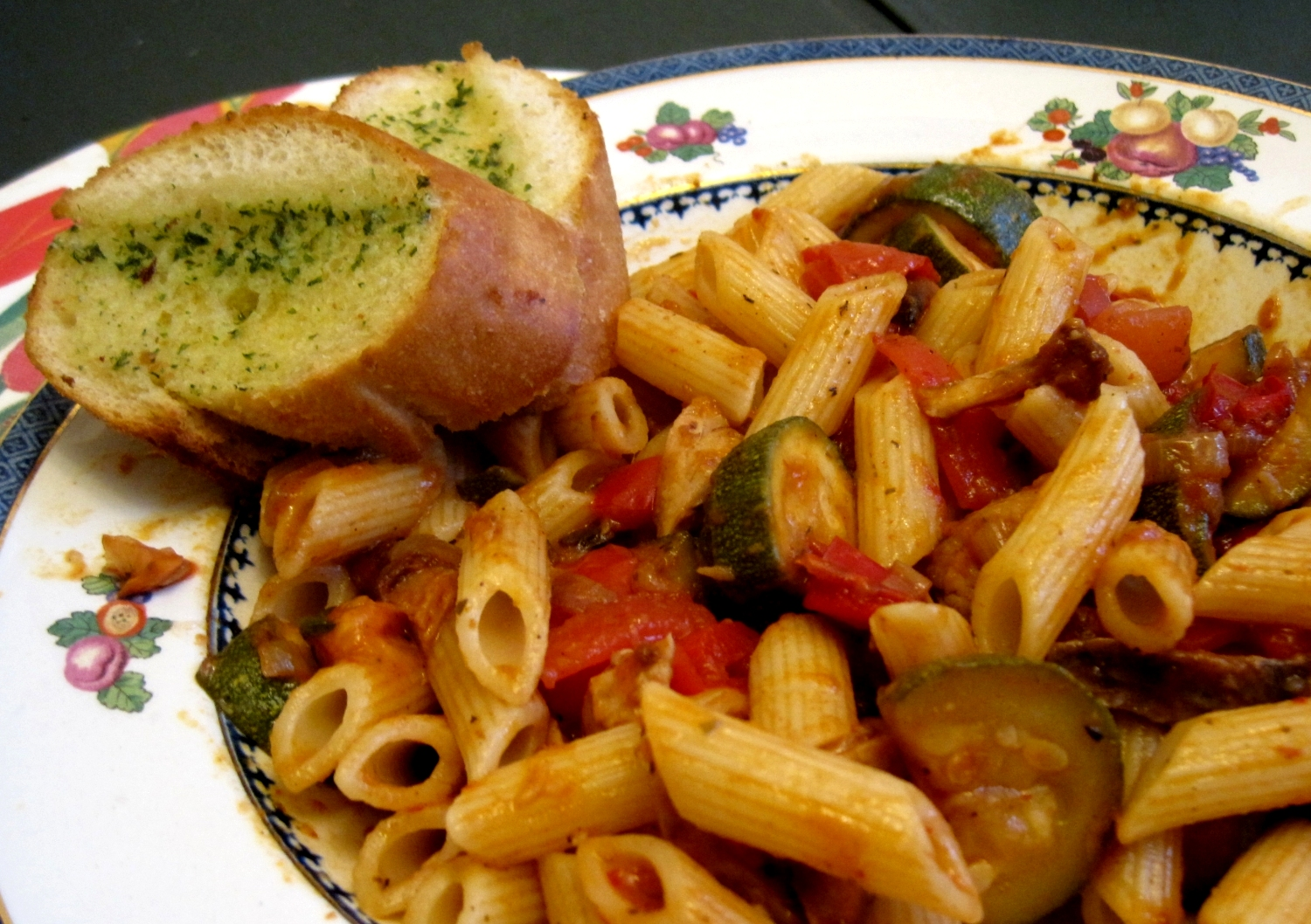 Lynne's Dinners : Ratatouille with Penne Pasta - Thursday 12th July ...
