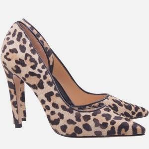 Luiza Barcelos inverno 2014 Scarpin salto alto em pelo leopardo