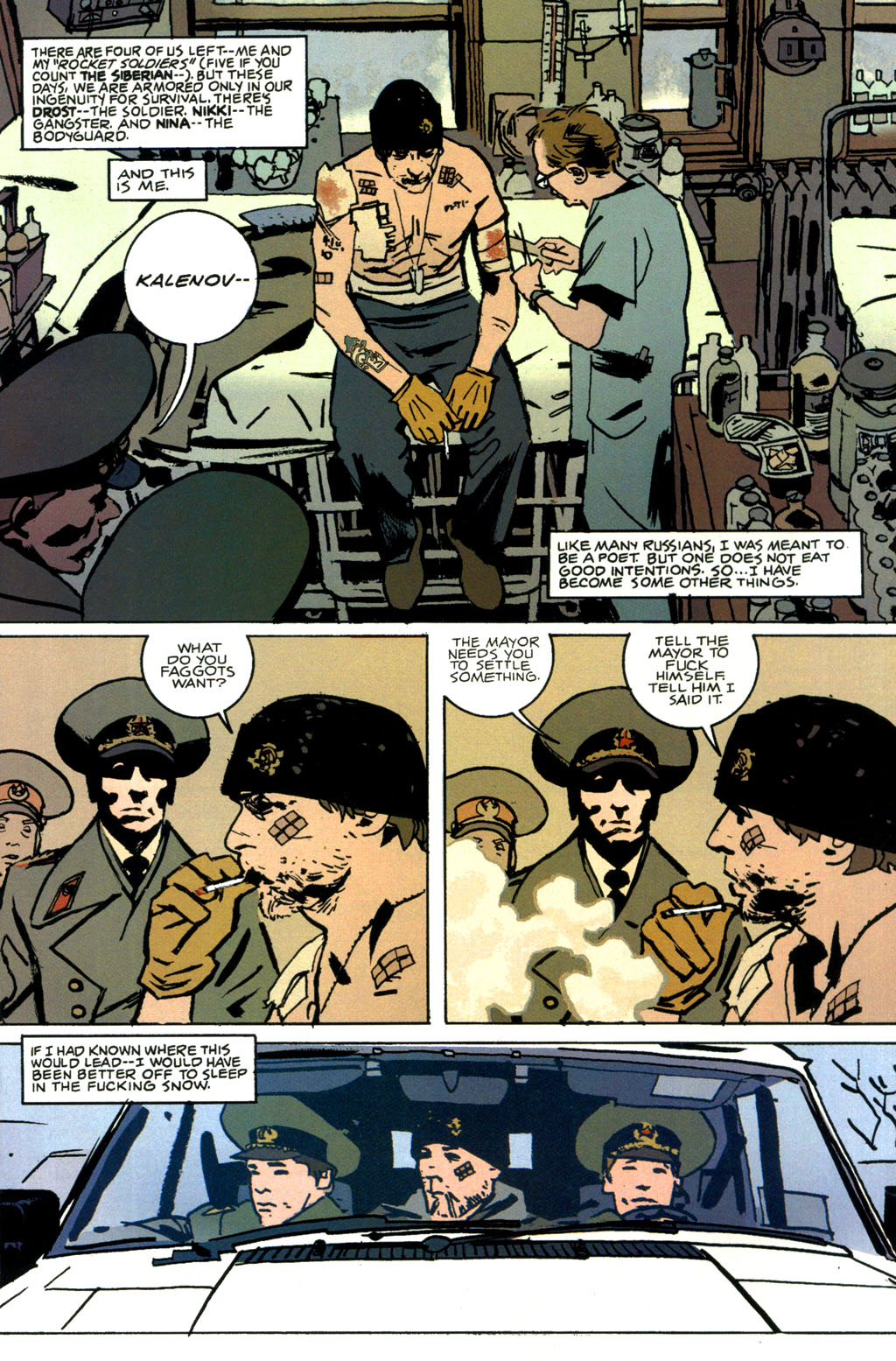 Read online The Winter Men comic -  Issue #1 - 8