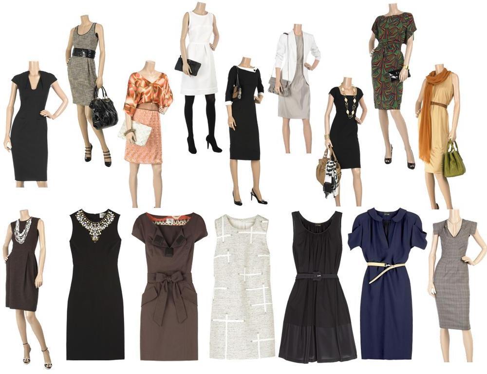 Moda da Cristina: Vestidos sociais para trabalho ou outras ocasiões