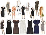 Vestidos sociais para trabalho ou outras ocasiões formais