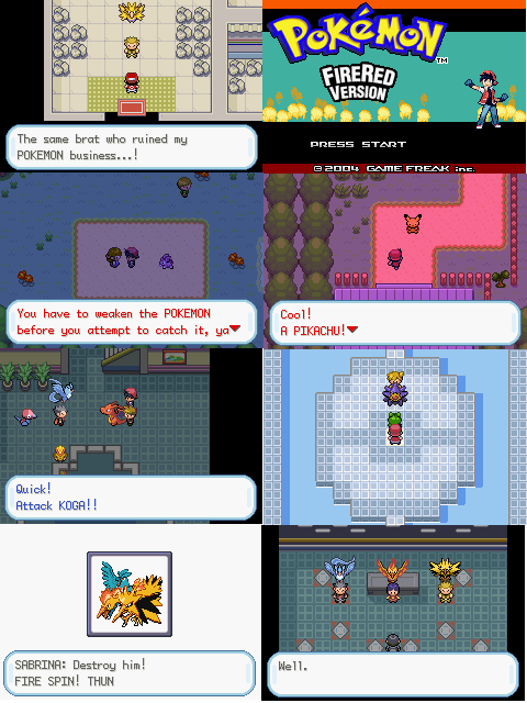 Pokemon Adventure Red Chapter  Pokemoner.com