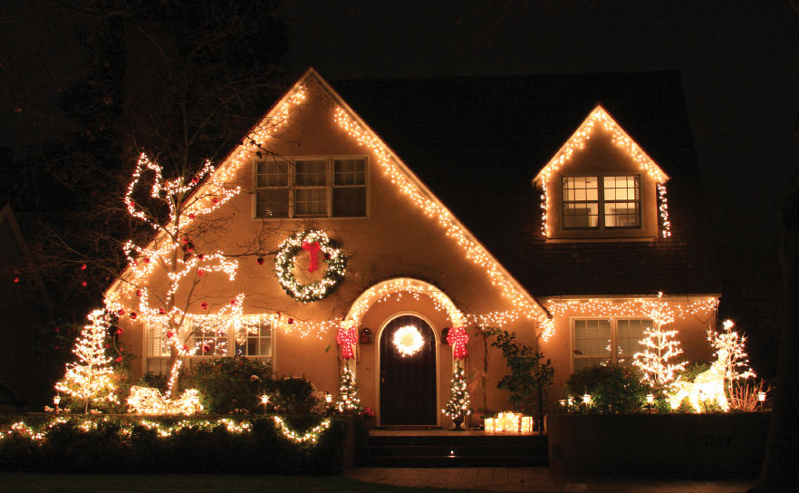 Beautiful Christmas Lights On Houses Hottest Hollywood