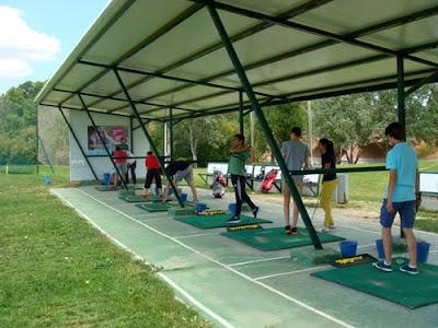 Golf Aranjuez Clinic Escolar IES Santiago Rusiñol