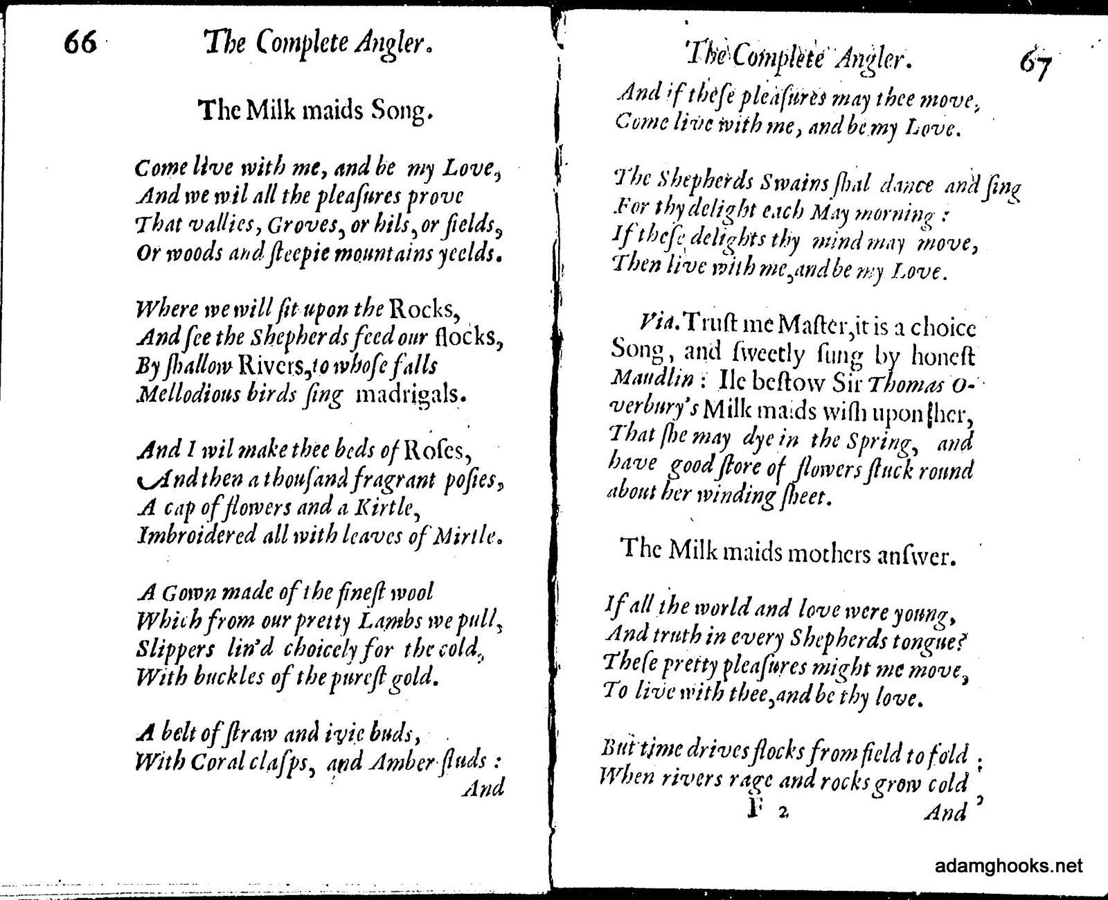 1488 meaning - Walton Characterizes The Two Songs As Old Fashioned Poetry A Phrase That Was Used To Describe The Poem A Number Of Times Almost Immediately After Its