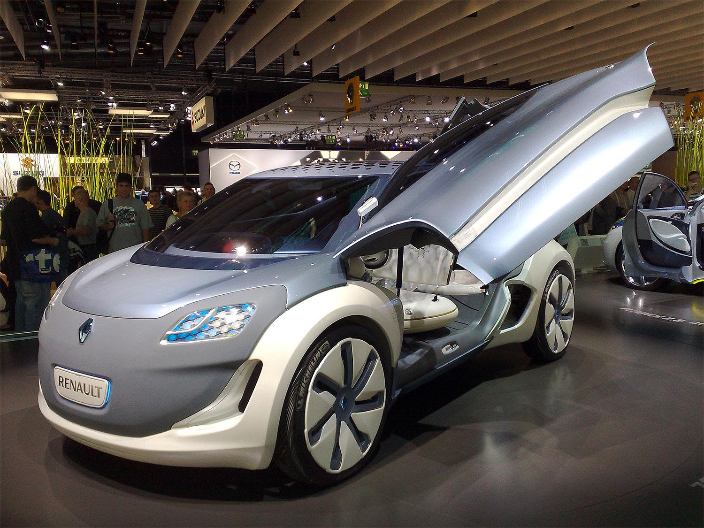 Renault Zoe Z.E. Concept Cars