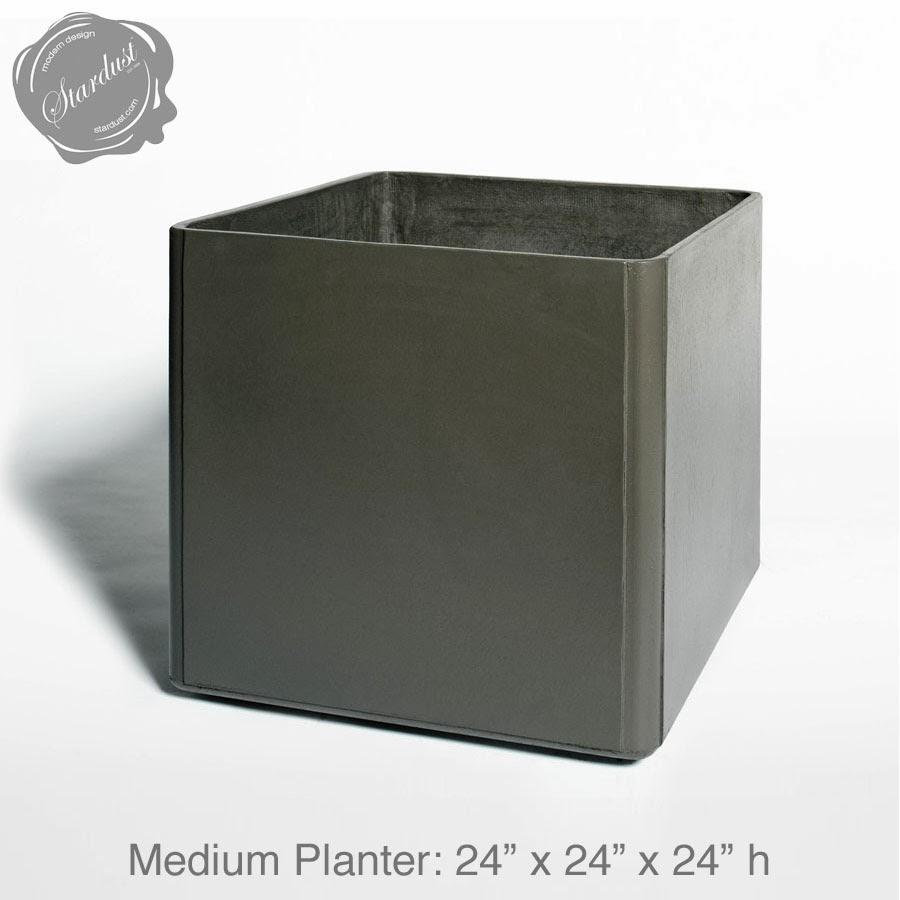 Large Outdoor Planter Pots  Square Outdoor Planter  Large Square Planter  Pot