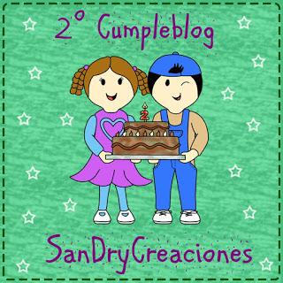 Cumpleblog de SanDryCreaciones