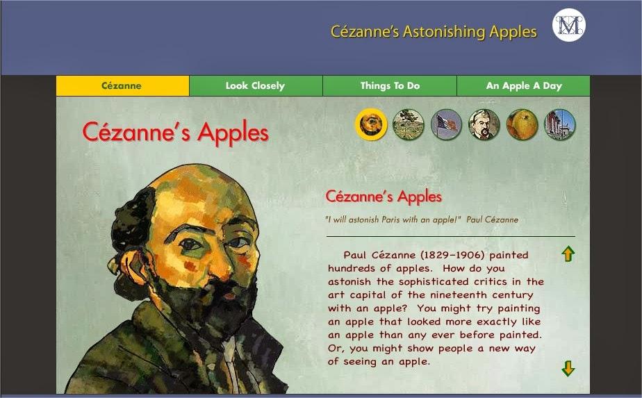 http://www.metmuseum.org/metmedia/kids-zone/start-with-art/cezannes-astonishing-apples