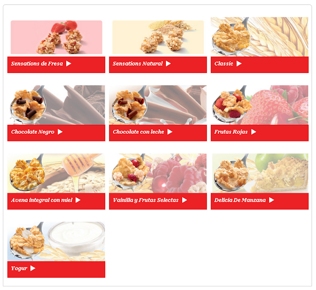 Cereales Special K de Kellogg´s