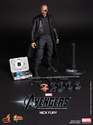 Hot Toys - Avengers Nick Fury figure