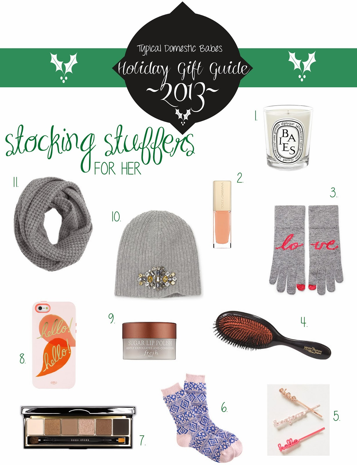 Typical Domestic Babe Holiday Gift Guide Volume Iv