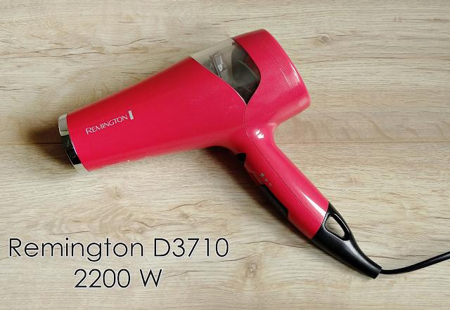 Znowu o włosach :) Suszarka Remington D3710 + wyniki konkursu Revive Lashes