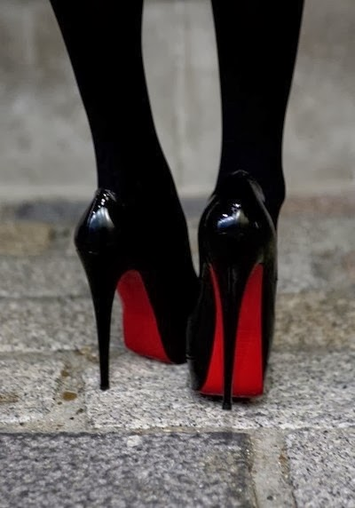 Gorgeous Black Heel Shoe