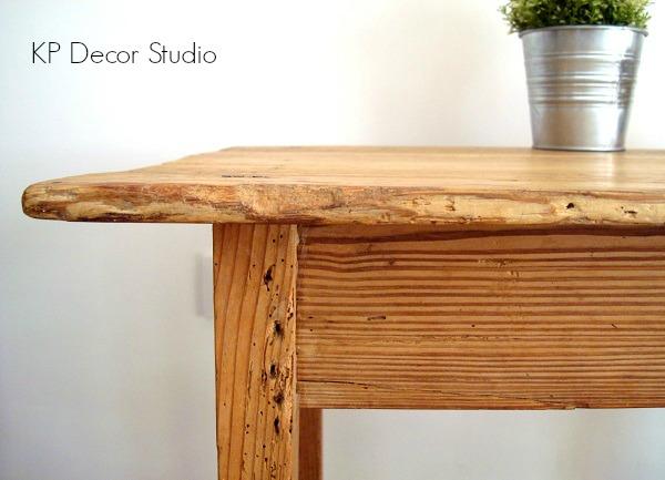 Mesitas rústicas online. Mesas auxiliares de madera